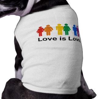 Love is Love Pet Tshirt