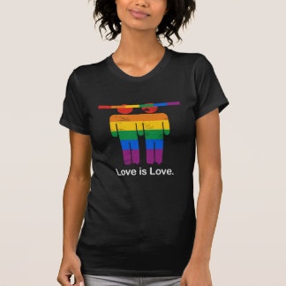 LOVE IS LOVE GAY COUPLE T-Shirt