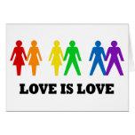 Love is Love Greeting Card