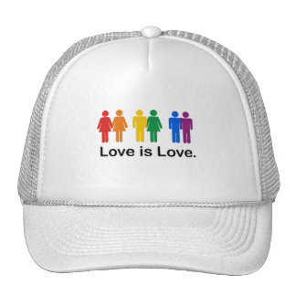Love is Love. Mesh Hats
