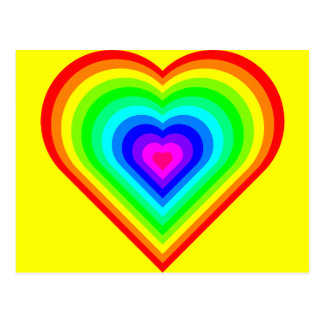Love is Love in Neon Postcard