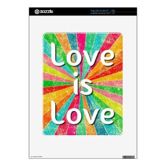 Love is Love iPad Skin