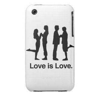 Love is Love iPhone 3 Cover