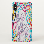 """Love Is Love iPhone X Case<br><div class=""""desc"""">Photograph of street art/graffiti in the Nolita (North Little Italy) neighborhood of Manhattan in New York City (NYC),  featuring the phrase,  &quot;Love Is Love.&quot;</div>"""