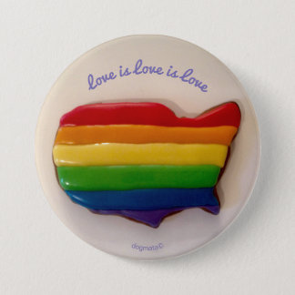 Love is Love is Love Button