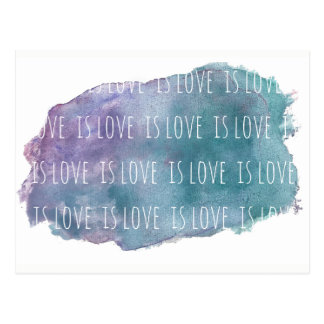 love is love is love postcard