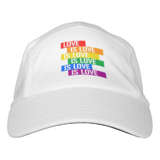 Love is Love is Love - Pride Love - - LGBTQ Rights Headsweats Hat