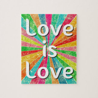 Love is Love Jigsaw Puzzle