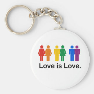 Love is Love Key Chain