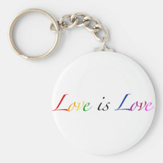 Love is Love Keychain