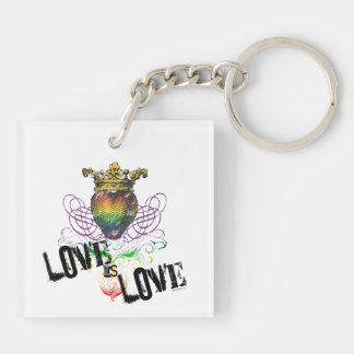 Love is Love Keychains