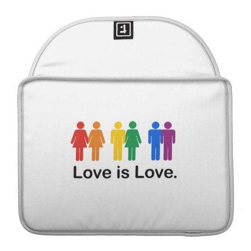 Love is Love. MacBook Pro Sleeve