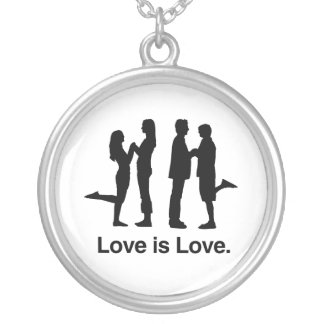 Love is Love Necklaces