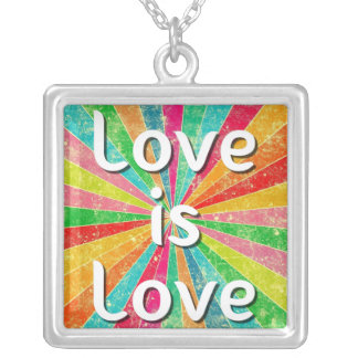 Love is Love Pendant Necklace