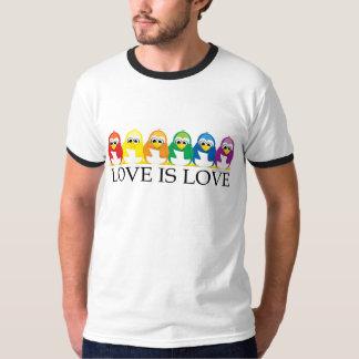 Love Is Love: Penguins Shirt