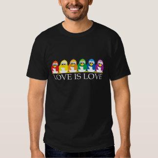 Love Is Love: Penguins Tee Shirt