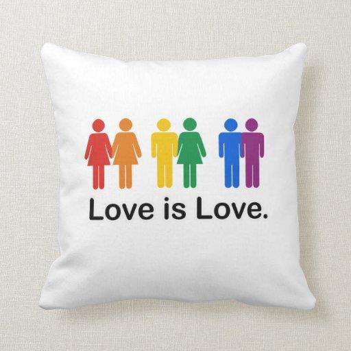 Love is Love. Pillow