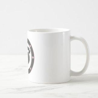 Love is Love. Pink over Black Coffee Mug