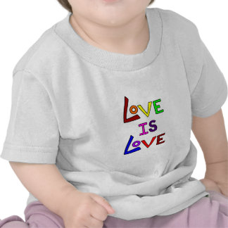 LOVE IS LOVE (Plain and Simple) ~ Tee Shirts