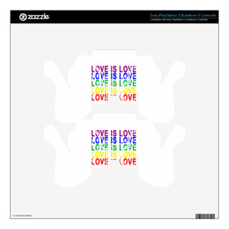 LOVE IS LOVE.png PS3 Controller Decal