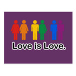 Love is Love. Post Cards