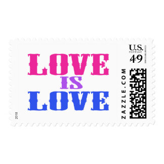 Love Is Love Postage Stamp