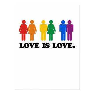 Love is Love Post Cards