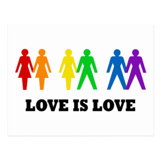 Love is Love Postcard