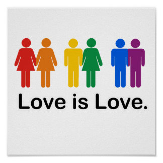 Love is Love. Poster