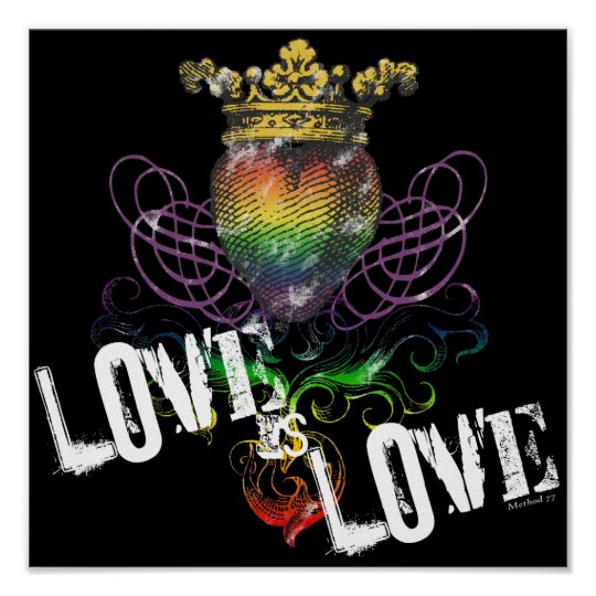 Love is Love Posters