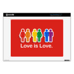 LOVE IS LOVE RED.png Acer Chromebook Decal