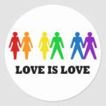 Love is Love Stickers
