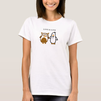 """""""LOVE IS LOVE"""" T-shirt (Women)"""