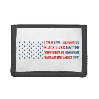 Love is Love Tri-fold Wallet