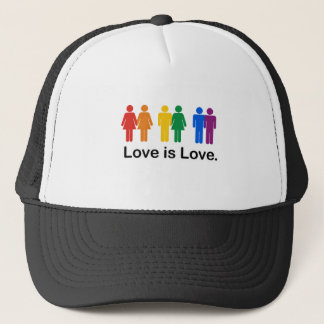 LGBT - Love is Love Trucker Hat