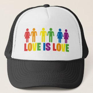 Love is Love Trucker Hat