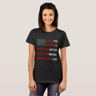Love is Love Women's Basic Dark T-Shirt