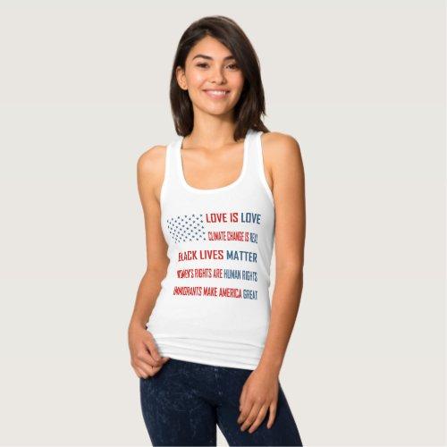 Love is Love Womens Racerback Tank