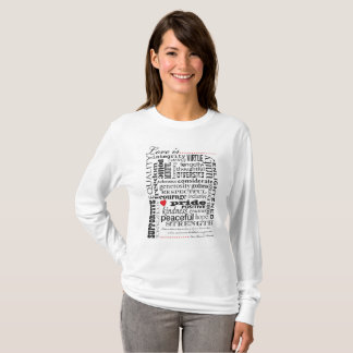 Love Is Love, Words Matter T-Shirt