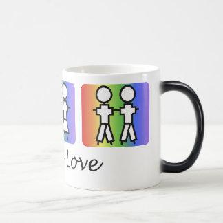 love-is magic mug