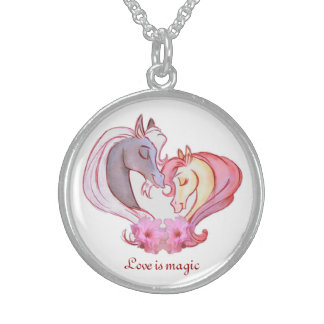 Love Is Magic Sterling Silver Necklace