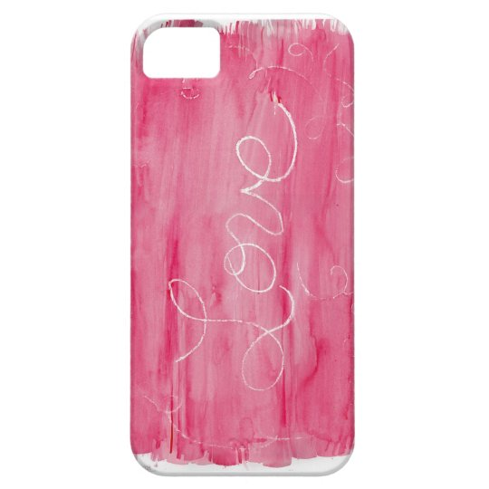 Love is Messy iPhone SE/5/5s Case