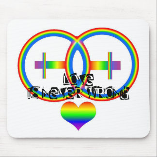 LOVE is Mouse Mat