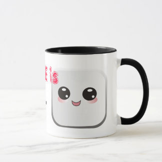 Love is Mug w/ cute marshmallow and chocolate kiss
