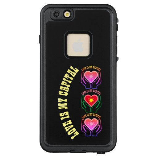 Love is my capital LifeProof FRĒ iPhone 6/6s plus case
