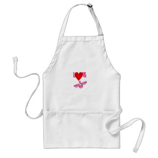 Love Is Never Wrong pick Apron
