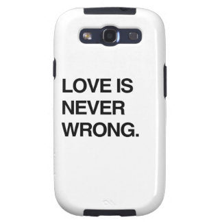 LOVE IS NEVER WRONG SAMSUNG GALAXY SIII COVERS