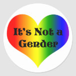 Love is Not a Gender Stickers