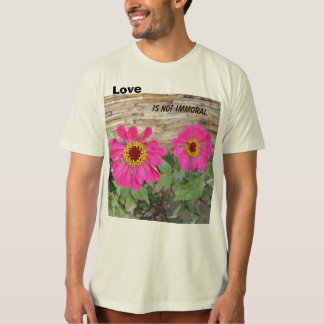 Love is not immoral. T-Shirt