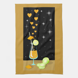 Love is not sweet candy American MoJo Kitchen Towe Hand Towel